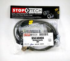 STOPTECH STAINLESS STEEL FRONT BRAKE LINES FOR 99-06 GMC SIERRA 2500 RWD / 4WD
