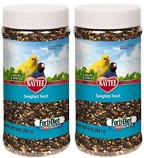 Kaytee Forti-Diet Pro Health Canary and Finch Songbird Treat, 9-oz jar (2 Pack)