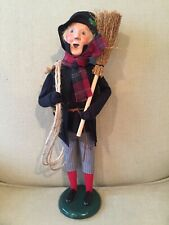 Byers' Choice caroler: Chimney Sweep, Cries of London 2014