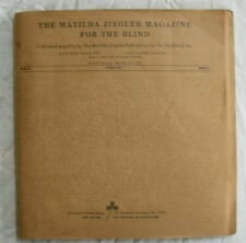 The Matilda Ziegler Magazine For The Blind October 1972