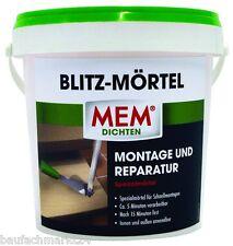 MEM Blitz-Mörtel 1 kg Blitzmörtel Blitzzement Schnellzement Schnellmörtel