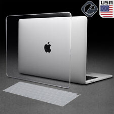 Crystal Clear Case Shell Keyboard Cover Fr MacBook Air 13 A1466 A1932 A2179 2020