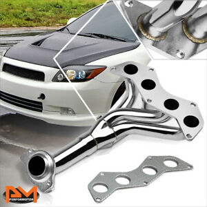 For 05-10 Scion tC 2.4 4CYL VVT-I 2AZ-FE Stainless Steel Exhaust Header Manifold