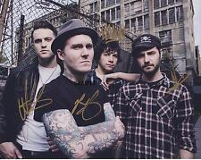 THE GASLIGHT ANTHEM REPRINT AUTOGRAPHED 8X10 SIGNED PICTURE PHOTO RP
