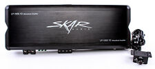 Skar Audio LP-1000.1Dv2 1000-Watt Monoblock MOSFET Amplifier with Remote NR