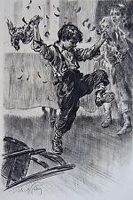 LOBEL RICHE, en souscription, Poil de carotte par Jules renard, 1911, plaquette