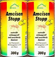 # 2x 300g Ameisenstreu Ameisenmittel Ameisenköder Ameisenstopp Pulver Abwehr GG