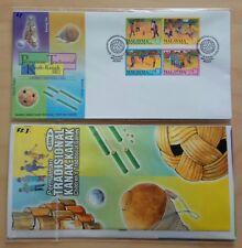 2000 Malaysia Children's Traditional Games 2nd Series 4v FDC (Melaka) Best Buy