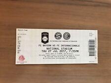 Sammler Used Ticket Test FC Bayern München Inter Mailand 27.07.17 FCB Singapur