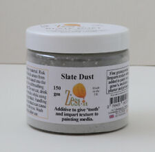 Zest-it Slate Dust Fine Grain 150gm -to give tooth & impart texture to cold wax