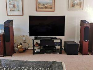 Monitor Audio Silver 200 Speakers (6g) in Walnut
