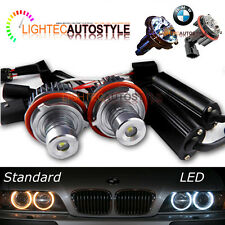 BMW E39 E87 E53 E60 E63 E64 E65 H7 Angel Eyes LED Luce 20W CREE CANBUS LAMPADINE UK