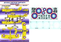 KORA Decals 1/48 DE HAVILLAND D.H.82 TIGER MOTH Chinese Canton Air Force