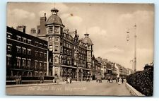 *The Royal Hotel Weymouth Dorset England Town Street View Vintage Postcard C84