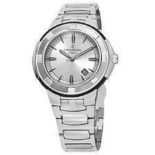 Charriol Men's Celtic Silver Dial Stainless Steel Quartz Watch CE443B930103