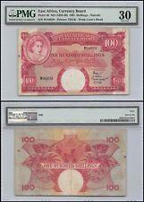 East Africa 100 Shillings, ND 1958-60, P-40, VF, Prefix-M, Lion's Head, PMG 30