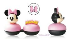 3D Disney Minnie Contact Lens Case Pocket Size Storage Holder Container
