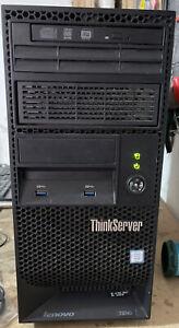 PC Server Lenovo ThinkServer TS140 XEON E3-1226 V3 8GB (2x4GB) 2TB HDD (2x1TB)