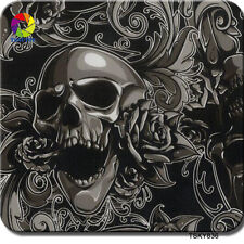HYDROGRAPHIC HYDRO DIP DIPPING WATER TRANSFER HYDRODIPPING FILM SKULL TSAUTOP