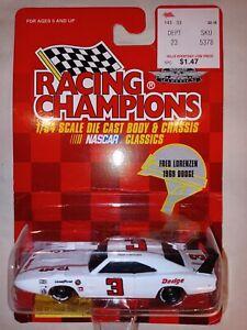 FRED LORENZEN #3 1969 DODGE SUPERBIRD 1/64 RACING CHAMPIONS 1997 DIECAST NASCAR