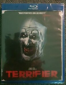 Terrifier Blu-ray Brand New Sealed Region A