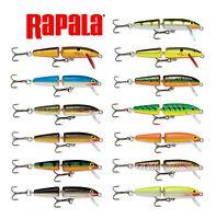 "Rapala Jointed Balsa Wood Minnow Bass, Muskie, Pike Bait J11 4 3/8"" (11 Cm)"