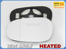 Wing Mirror Glass For BMW SERIES 3 E90 E91 2008-11 Wide Angle HEATED Left #B018