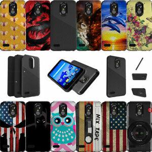 For LG Stylo 3 | LG Stylus 3 | LG Stylo 3 Plus | LS777 Slim Fit Dual Layer Case