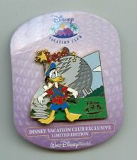 Dvc Disney Vacation Club Donald Duck with Map Epcot Spaceship Earth Le Pin