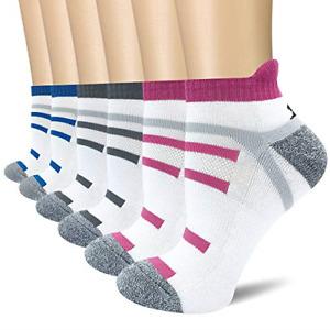 BERING Women's Performance Athletic Running Socks 6 Pack