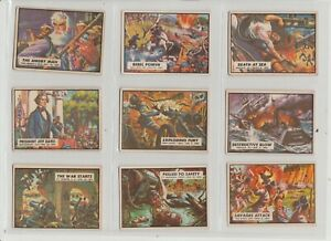 CIVIL WAR NEWS A&BC Gum  Full Set of 88 cards with unmarked checklist