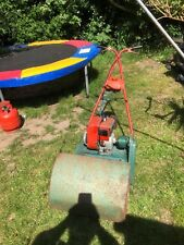 OLD STYLE SUFFOLK 24A CYLINDER LAWNMOWER WITH FREE BOX OF SPARES