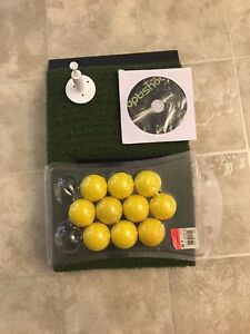Optishot 2 Golf Simulator W/ Accessories Foam Balls Extra Thick Mat