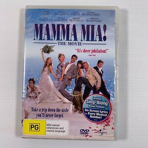Mamma Mia! (DVD, 2008) Pierce Brosnan, Colin Firth, Meryl Streep Region 4