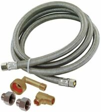 0012253 Eastman 8-ft 1500-Psi Stainless Steel Dishwasher Connector (gt3)