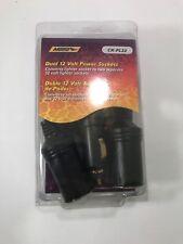 Dual Car Charger Splitter Cigarette Lighter Socket Power Plug 12V Metra CK-PL22