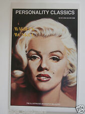 Marilyn Monroe Comics Magazine Personality Classics RARE Mint