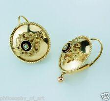 Beautiful Rare Antique Gold Earrings ca. 1820 - Ohrringe Orecchini