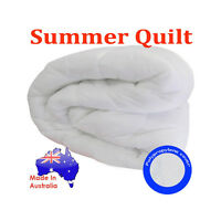 4 SIZES - Australian Made SUMMER QUILT / DOONA - Asthma & Hayfever Sufferer NEW