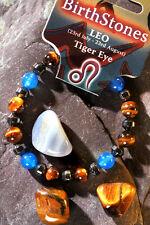 LEO-Lucky Birthstone & Talisman 'Power Bracelet' Plus free book & Bookmark