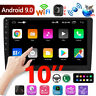 "10"" 2Din Android 9.0 4-Core GPS Navi WiFi Car MP5 Player Coche FM Radio + Camera"