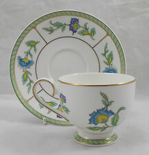 Villeroy & and Boch Heinrich COLUMBIA footed coffee cup and saucer