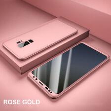 f5ae6855f3d Para Samsung Galaxy S9 A8 S8 Plus 360° Protección Completo Funda carcasa  Híbrido