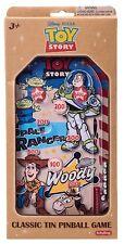 Disney Pixar Toy Story Classic Tin Flipper Jeu-Style Rétro Rare NEW