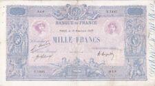1000 FRANCS BLEU & ROSE 19-11-1920 TB-