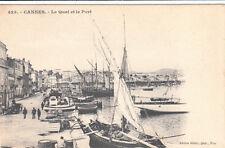 CANNES 425 le quai et le port bateaux éd gilatta