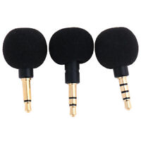 Mini 3.5mm Jack Voice Mic Microphone for Recorder Smart Phone Cell Ph qiJCAU
