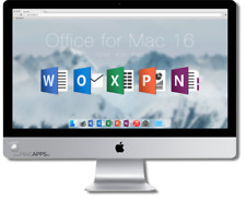 Microsoft Office 2016 For Mac Home & Business _3 Mac USERS Licence