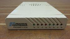 Practical Peripherals PM288MT 1000mA Mini Tower II V.34 External Data/Fax Modem
