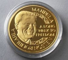 Nelson Mandela / AFRIKA - MEDAILLE - MÜNZE - GOLDMÜNZE